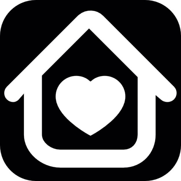 maison-contour-avec-un-coeur-blanc-a-l-39-interieur_318-36032